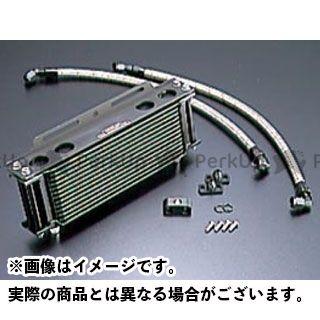 アクティブ GPZ400F Z400GP Z750GP オイルクーラー オイルクーラーキット ストレート #6 9-10R ブラック