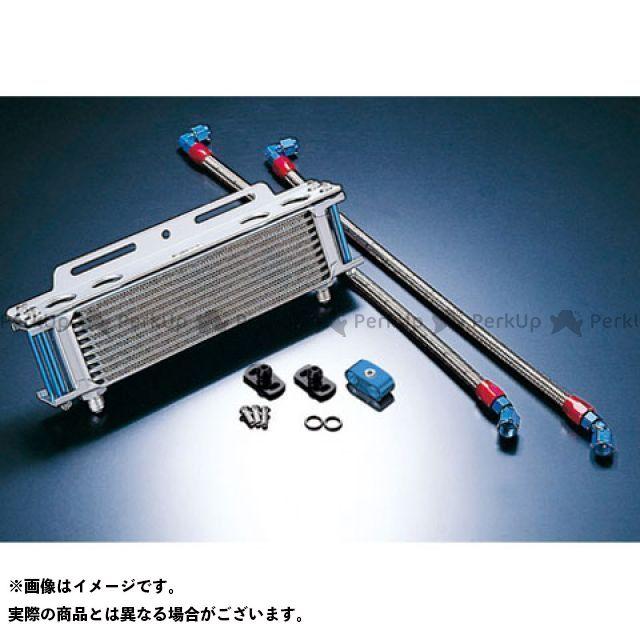 アクティブ GPZ400F Z400GP Z750GP オイルクーラー オイルクーラーキット ストレート #6 9-13R シルバー