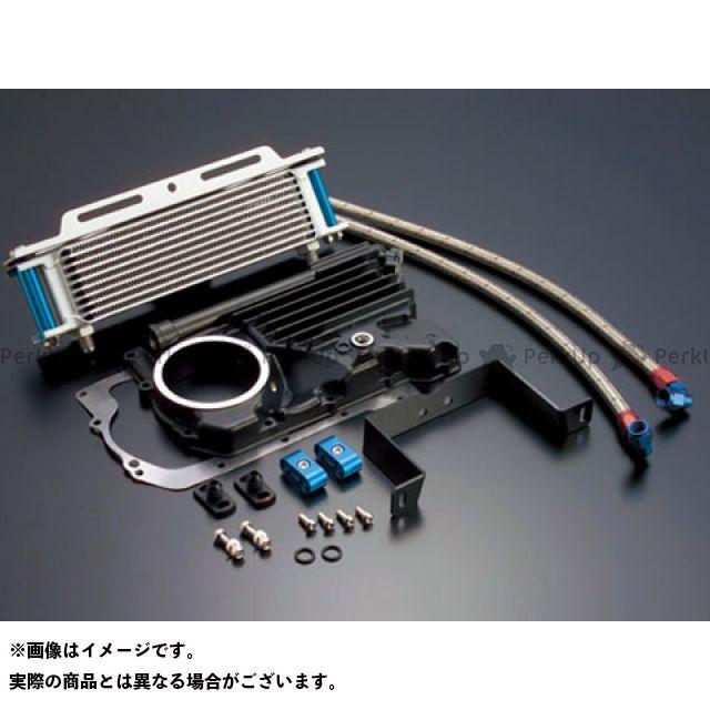 【エントリーで更にP5倍】アクティブ Z400FX オイルクーラーキット ストレート #6 9-10R カラー:シルバー ACTIVE