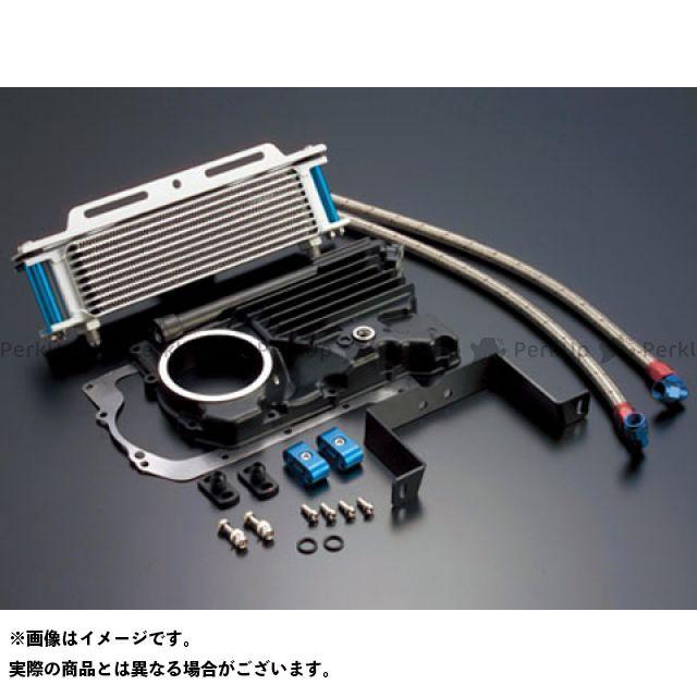 アクティブ Z400FX オイルクーラー オイルクーラーキット(サイド廻し)ストレート #6 9-10R シルバー