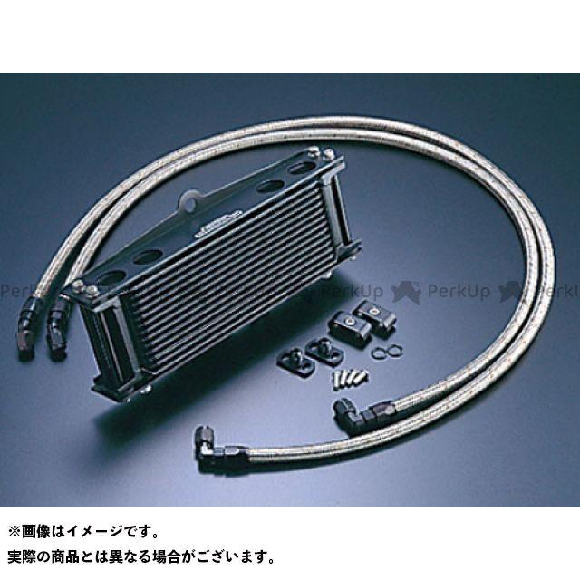 アクティブ ゼファー750 ゼファー750RS ZR-7 オイルクーラー オイルクーラーキット(サイド廻し)ストレート #6 9-13R ブラック