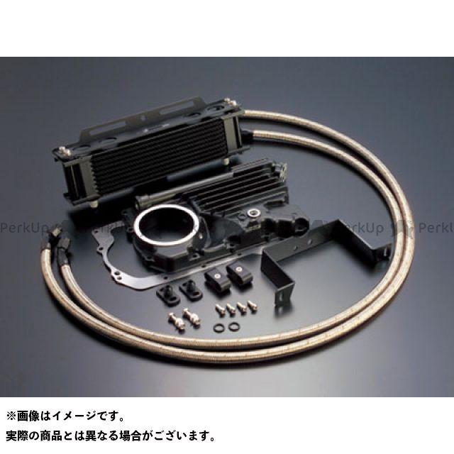 アクティブ Z400FX オイルクーラー オイルクーラーキット(サイド廻し)ストレート #6 9-10R(サーモ対応キット) ブラック