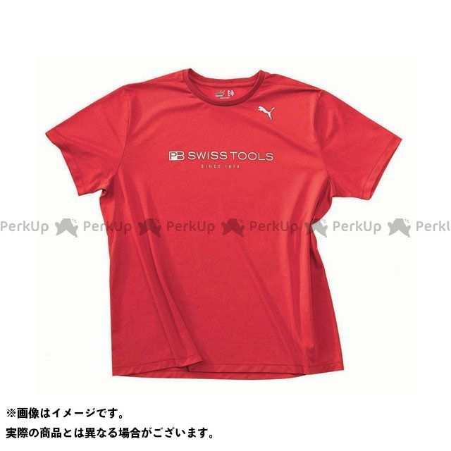 PBスイスツールズ 2751 PBスイスツール プーマTシャツ(レッド) サイズ:M PBSWISSTOOLS