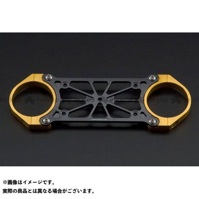 Kファクトリー ZRX1200R ZRX1200S フロントスタビライザー プレート色:メタリックシルバー クランプ色:メタリックシルバー ケイファクトリー