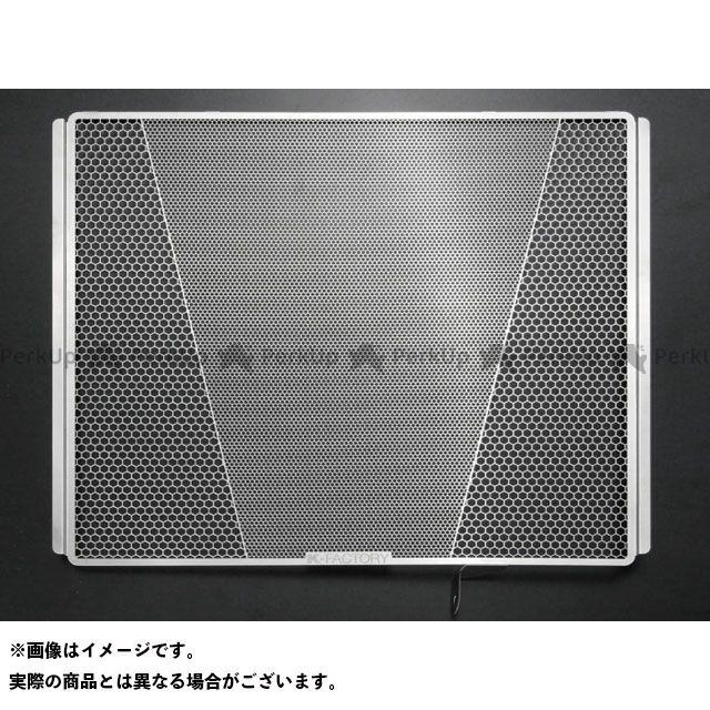 Kファクトリー ニンジャZX-14R ZZR1400 ラジエターコアガード ステンレス タイプ:Rタイプ ケイファクトリー