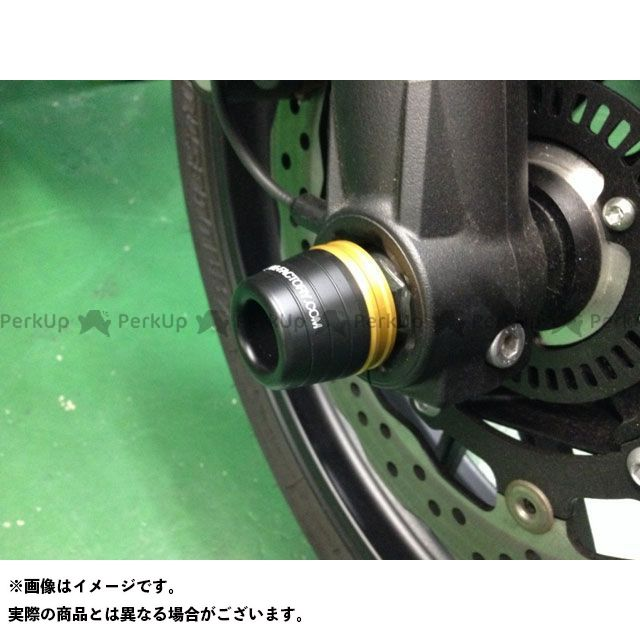 Kファクトリー MT-07 フロントアクスルスライダー ケイファクトリー