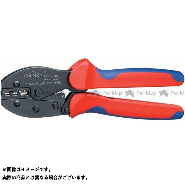 KNIPEX 9752-36 圧着ペンチ(SB) クニペックス