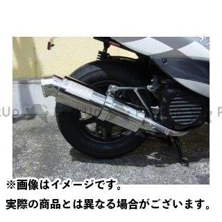 Bムーンファクトリー ジョグ ハイパワーステンレスマフラー/4スト JOG