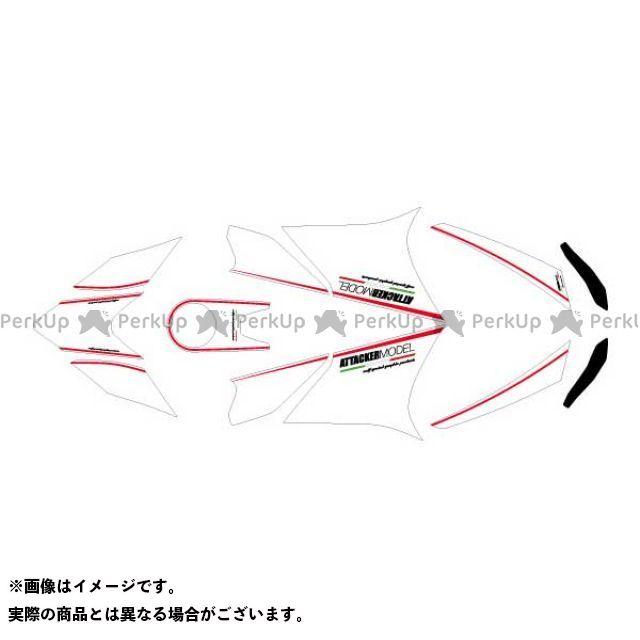 MDF 1199パニガーレ 899パニガーレ ドレスアップ・カバー 1199/899 全年式 グラフィックキット アタッカーモデル ホワイトタイプ コンプリートセット