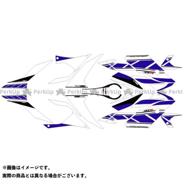 MDF YZF-R25 YZF-R3 YZF-R3/R25(15-18) グラフィックキット ストロボモデル ブルータイプ タイプ:コンプリートセット エムディーエフ