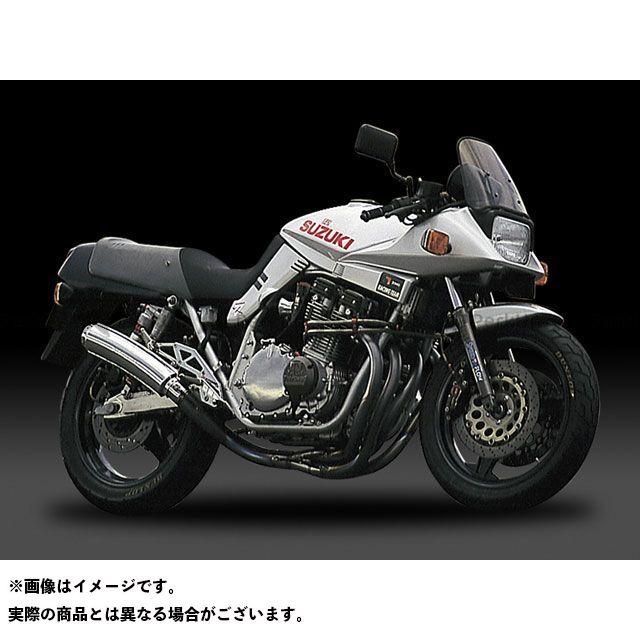 ヨシムラ GSX1100Sカタナ GSX750Sカタナ マフラー本体 手曲チタンサイクロン T(アルミニウムカバー)