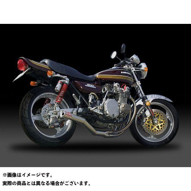 ヨシムラ Z1・900スーパー4 Z2・750ロードスター 手曲ストレートチタンサイクロン TT(チタンカバー)  YOSHIMURA
