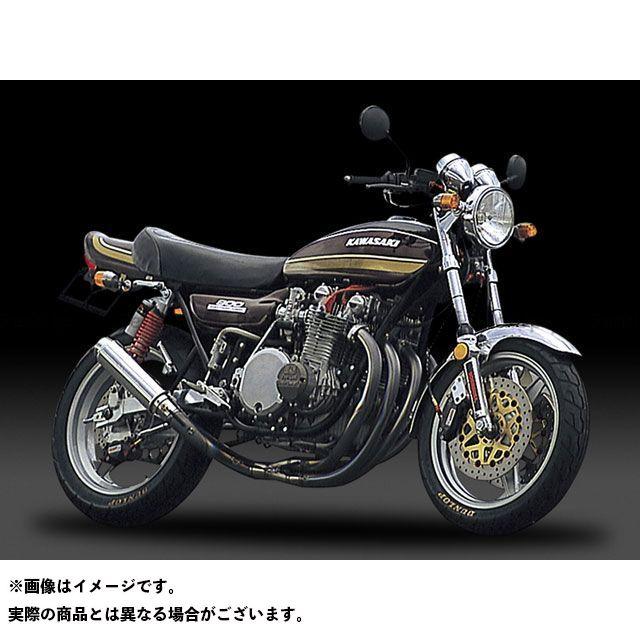 ヨシムラ Z1・900スーパー4 Z2・750ロードスター マフラー本体 手曲チタンサイクロン T(アルミニウムカバー)