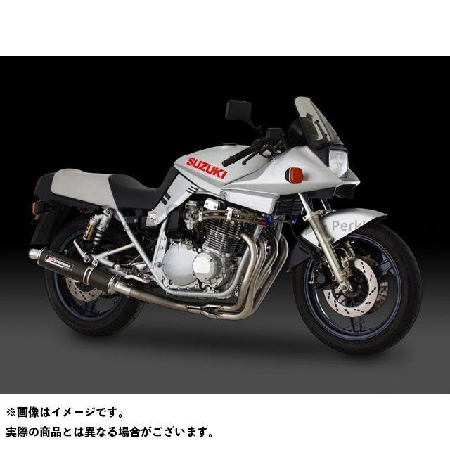 送料無料 ヨシムラ GSX1100Sカタナ マフラー本体 機械曲チタンサイクロン TT(チタンカバー)