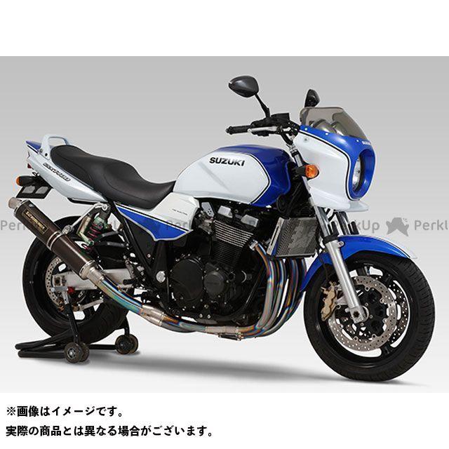 ヨシムラ GSX1400 手曲チタンサイクロン サイレンサー:TC(カーボンカバー) YOSHIMURA