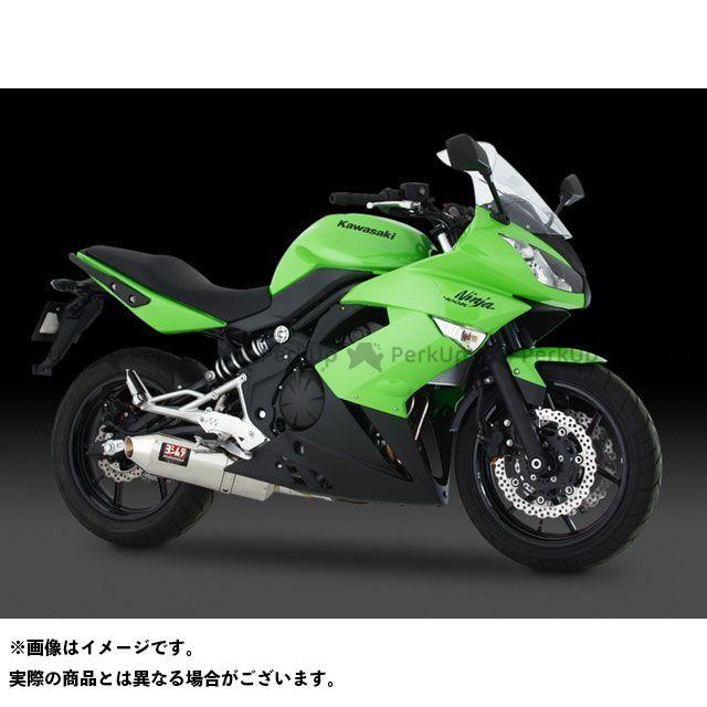 【無料雑誌付き】ヨシムラ ER-4n ニンジャ400R Slip-On Oval-Coneサイクロン EXPORT SPEC サイレンサー:STB(チタンブルーカバー) YOSHIMURA
