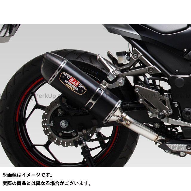 ヨシムラ ニンジャ250 Z250 Slip-On R-77S サイクロン カーボンエンド EXPORT SPEC 政府認証 STC(チタンカバー/カーボンエンドタイプ)