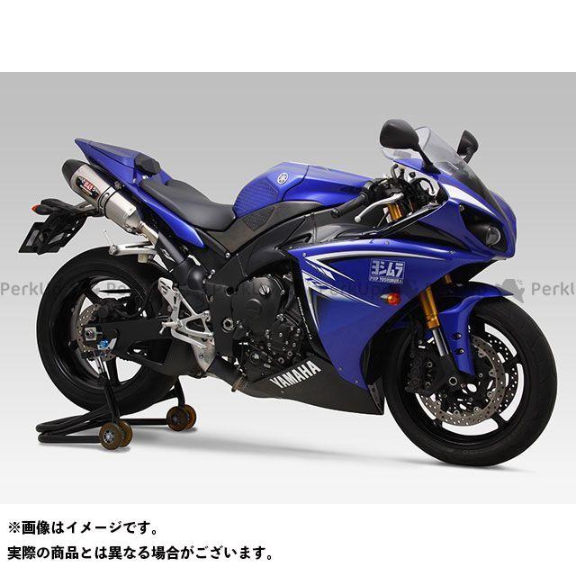 送料無料 ヨシムラ YZF-R1 マフラー本体 Slip-On R-77J サイクロン EXPORT SPEC STBC(チタンブルーカバー/カーボンエンドタイプ)