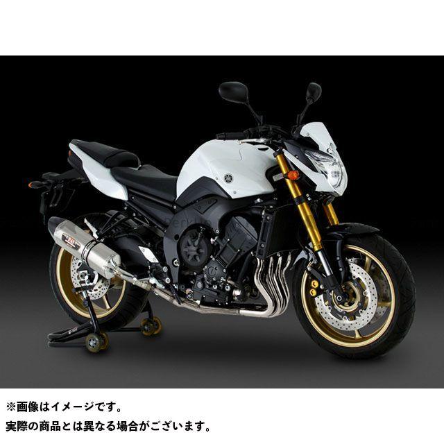 ヨシムラ フェザー8 FZ8 Slip-On R-77J サイクロン EXPORT SPEC STBS(チタンブルーカバー/ステンレスエンドタイプ) YOSHIMURA