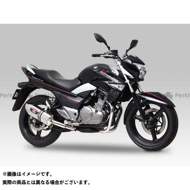 送料無料 ヨシムラ GSR250 GSR250S マフラー本体 Slip-On R-77J サイクロン EXPORT SPEC STBC(チタンブルーカバー/カーボンエンドタイプ)