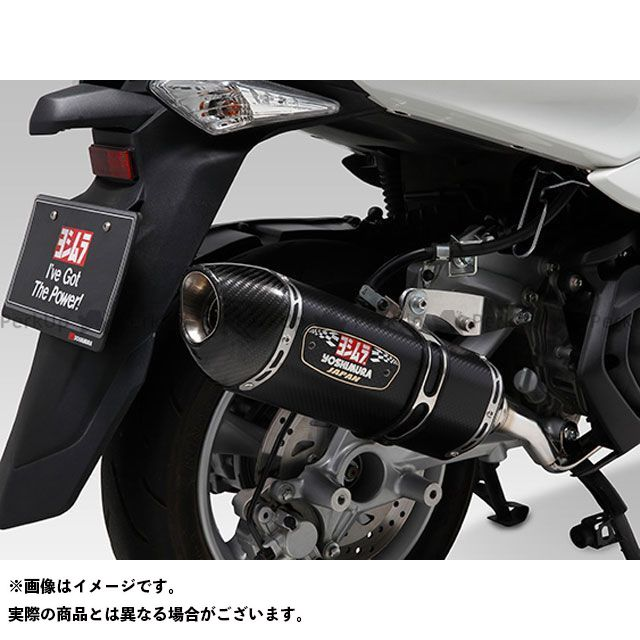 ヨシムラ マジェスティS R-77S サイクロン カーボンエンド EXPORT SPEC 政府認証 サイレンサー:SSC(ステンレスカバー/カーボンエンドタイプ) YOSHIMURA