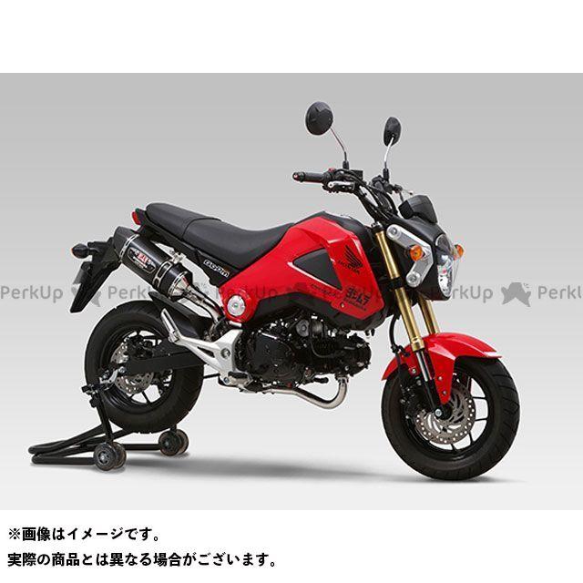 ヨシムラ グロム 機械曲 R-77S サイクロン カーボンエンド EXPORT SPEC 政府認証 サイレンサー:SSC(ステンレスカバー/カーボンエンドタイプ) YOSHIMURA
