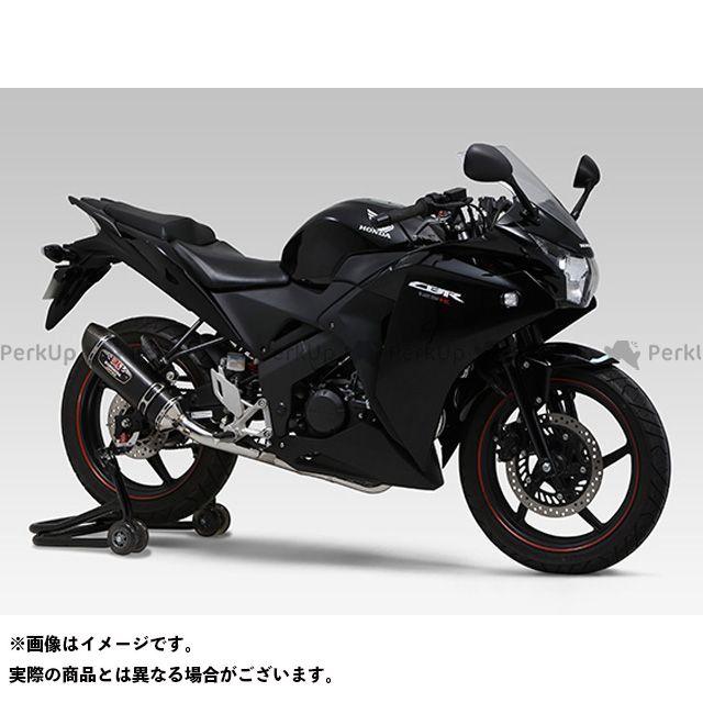 ヨシムラ CBR125R CBR150R 機械曲 R-77S サイクロン カーボンエンド EXPORT SPEC 政府認証 サイレンサー:SMC(メタルマジックカバー/カーボンエンドタイプ) YOSHIMURA