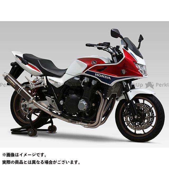 送料無料 ヨシムラ CB1300スーパーボルドール マフラー本体 機械曲チタンサイクロン LEPTOS 政府認証 TT(チタンカバー)