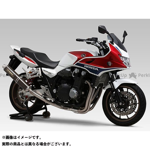 送料無料 ヨシムラ CB1300スーパーボルドール マフラー本体 機械曲チタンサイクロン LEPTOS 政府認証 TTB(チタンブルーカバー)