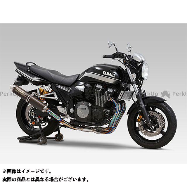 送料無料 ヨシムラ XJR1300 マフラー本体 機械曲チタンサイクロン LEPTOS 政府認証 TC(カーボンカバー)
