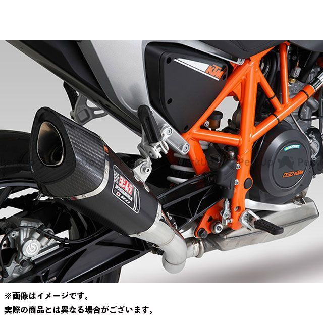 ヨシムラ 690デューク 690デュークR Slip-On R-11 サイクロン 1エンド EXPORT SPEC 政府認証 サイレンサー:ST(チタンカバー) YOSHIMURA