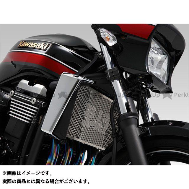 ヨシムラ ZRX1200ダエグ ラジエター関連パーツ ラジエターコアプロテクター Silver