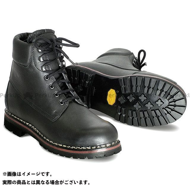 GAERNE ガエルネ ライディングシューズ No.145(ナンバー145) ブラック 23.5cm