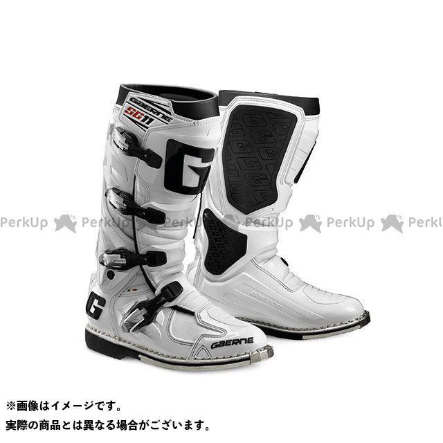 GAERNE ガエルネ オフロードブーツ SG.11(エスジー11) ホワイト 27.5cm