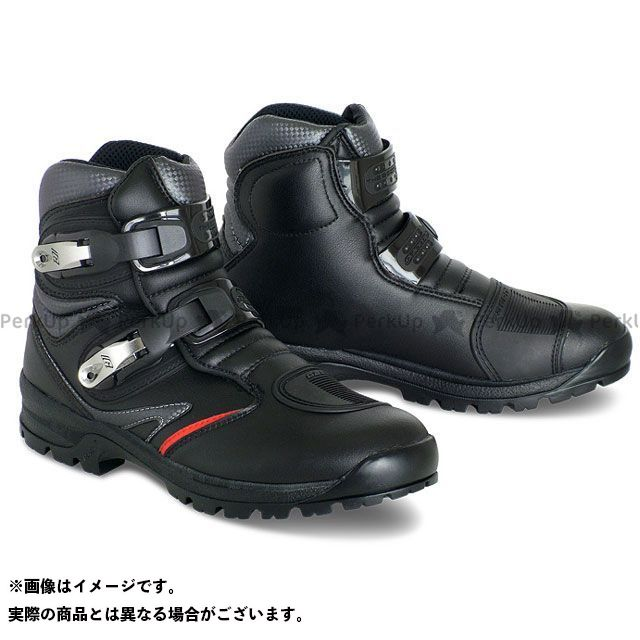 GAERNE ガエルネ ライディングシューズ ToughGear(タフギア) ブラック 24.0cm