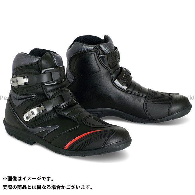 GAERNE ガエルネ ライディングシューズ ToughGear Flat(タフギア・フラット) ブラック 25.5cm