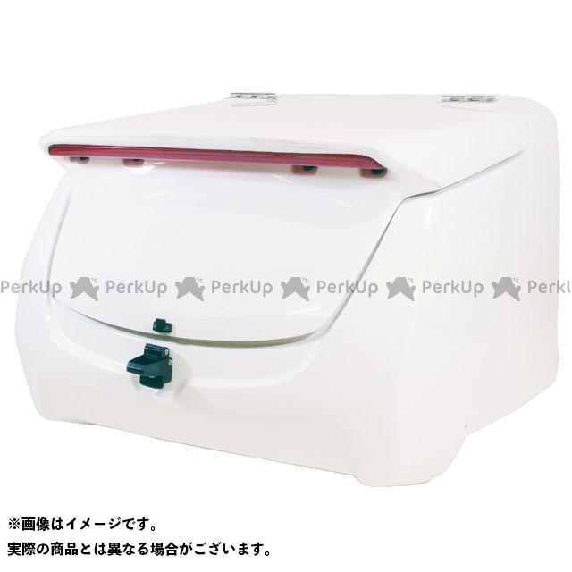 送料無料 ワールドウォーク ジャイロキャノピー ツーリング用ボックス ジャイロキャノピー用 リアボックス LEDハイマウント付き 白