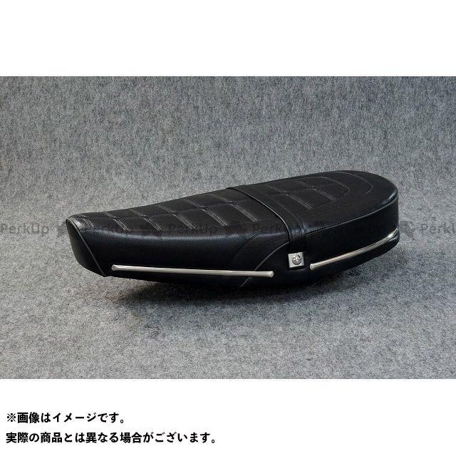 ジーエムモト シャリィ50 新デザイン!シャリー用 ローダウン&ロング シート カラー:オールブラックレザー GM-MOTO