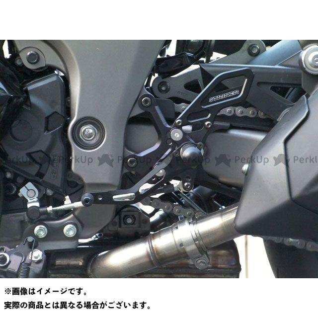 【エントリーで更にP5倍】ストライカー ニンジャ1000・Z1000SX Z1000 スペシャルステップキット 4ポジション(ブラック) STRIKER
