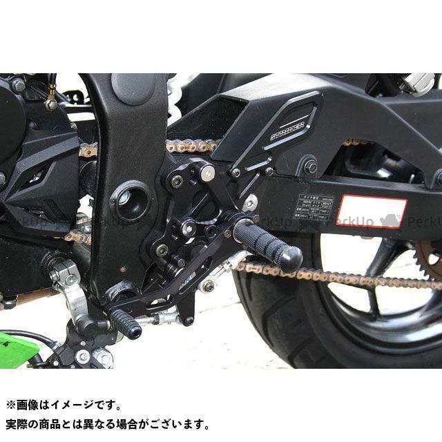 【エントリーで更にP5倍】ストライカー ニンジャ250SL スペシャルステップキット(ブラック) STRIKER