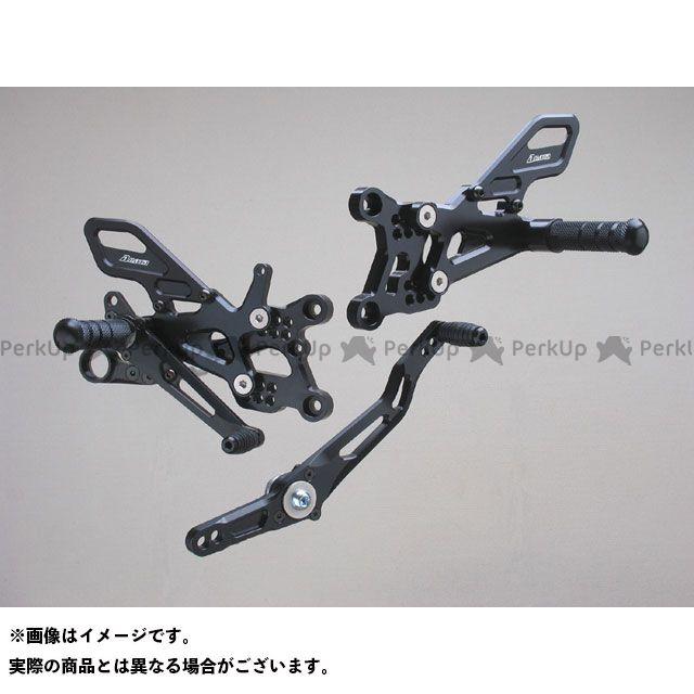 【エントリーで更にP5倍】ストライカー YZF-R6 スペシャルステップキット 6ポジション(ブラック) STRIKER