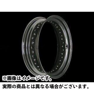 ネオファクトリー ハーレー汎用 ホイールリム 16×4.5in SV カラー:ブラック タイプ:ラージホール ネオファク
