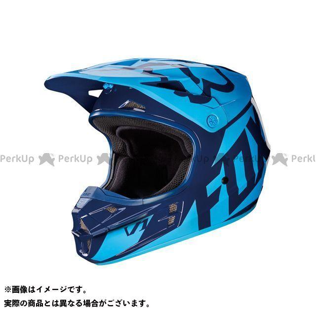 FOX 2017モデル V1 レース ヘルメット ネイビー M/57-58cm フォックス