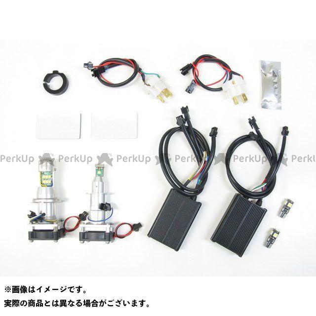 送料無料 プロテック TMAX500 ヘッドライト・バルブ LBW-TM LEDヘッドライトバルブキット H7(Lo)&H4(Hi/Lo) 6000K