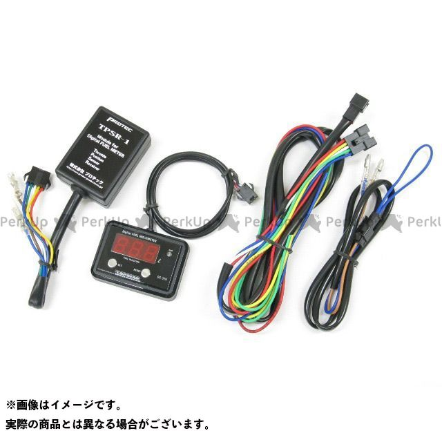 プロテック 汎用 水温・油温・燃料計 11289 DG-C01 デジタルフューエルメーターキャブ車用(TPS付き車両)