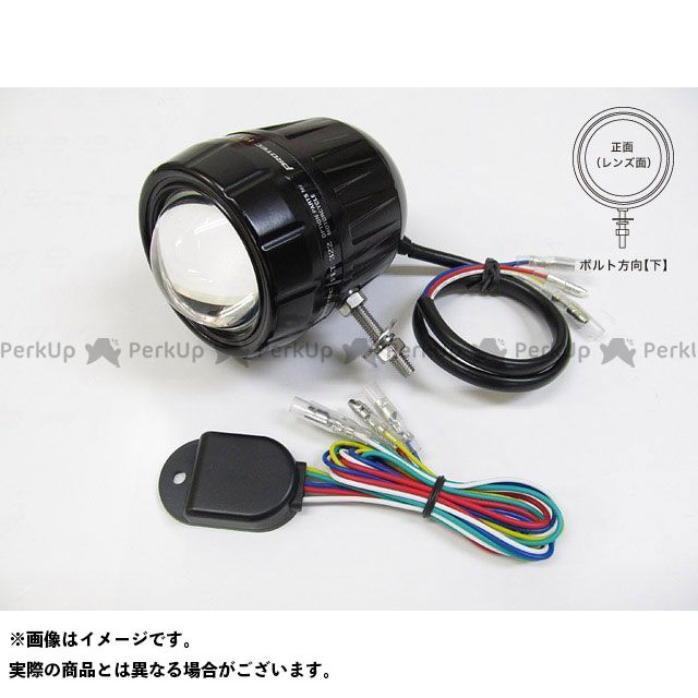 送料無料 プロテック 汎用 ヘッドライト・バルブ FLT-322 LEDフォグライト(REVセンサー付 親機) 上