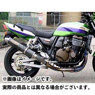 送料無料 テックサーフ ZRX1200R ZRX1200S マフラー本体 チタンEXタイプ2 タイプ カーボン