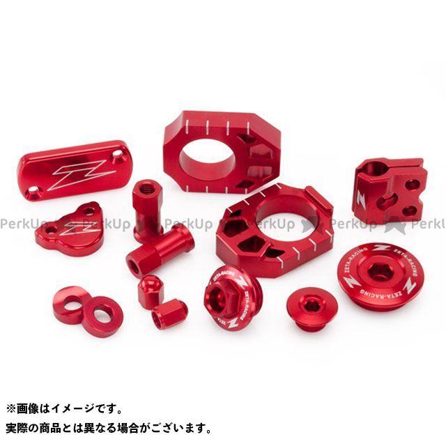 ジータ KX250F KX450F ビレットキット カラー:レッド ZETA