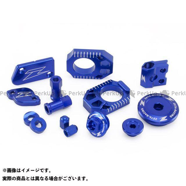 ジータ KX250F KX450F ビレットキット カラー:ブルー ZETA