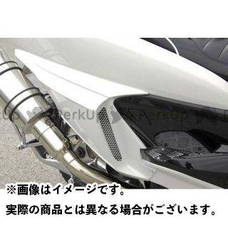 ビビッドパワー グランドマジェスティ250 グランドマジェスティ400 GRAND MAJESTY サイドフラップ カラー:未塗装黒ゲル VIVID POWER